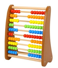Wooden Abacus Classic Counting Tool, Early Learning Develpmental Toy, Multi-Colored Beads, 10 Extensions, 100 Bead Abacus, Math Toy for Kids >>> Click on the image for additional details. (This is an affiliate link)