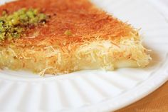 Saudi style cheese kunafa recipe.