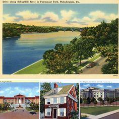 Independence Hall, South Lake Tahoe, Vintage Florida, Travel Souvenirs, Miami Beach, Ephemera, Art Museum, Philadelphia