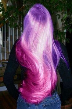 original hair pelo original pelo rosa pelo violeta pelo lila violet hair p Ombre Hair Color, Cool Hair Color, Hair Colors, Colours, Ombre Nail, Dye My Hair, New Hair, Lilac Hair, Violet Hair