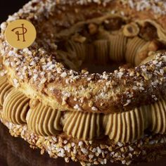 Paris Brest Recipe by pastry chef Pierre Hermé French Bakery, French Pastries, Classic Desserts, French Desserts, Pastry Recipes, Dessert Recipes, Cooking Recipes, Eclairs, Profiteroles