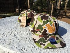 Squirrel Camo Snapback Cap by SKIT x THE APARTMENT x 47 BRAND