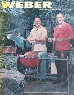 Vintage Barbecue and Grilling Catalog from Weber Grills