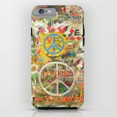 Peace Sign - Love - Graffiti iPhone & iPod Case