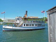 SABINO (steamer) - Mystic Seaport - Mystic, CT - Wikipedia Entries on Waymarking.com