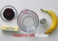 You won't believe what is in this healthy-ish fudge! No sugar added!