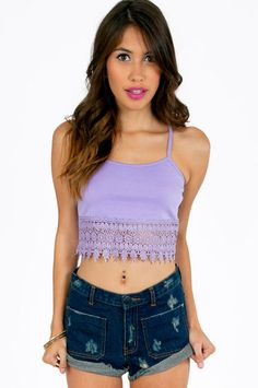 385eaaa040a Grand Canyon Crop Top ~ TOBI Flowy Tops