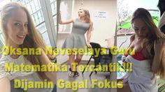 Oksana Neveselaya Guru Matematika Tercantik!!! Dijamin Gagal Fokus