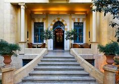 Hotel Albergo Relais & Chateaux in Beirut, Lebanon   - Explore the World with Travel Nerd Nici, one Country at a Time. http://TravelNerdNici.com