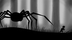 Limbo Brings Spooky Platforming to iDevices 2d Game Art, Video Game Art, Limbo Game, Spider Games, Diorama, Humble Bundle, Night In The Wood, Game Change, Over The Garden Wall