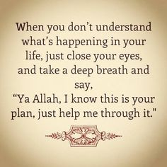 Allah best planner for us always put your full trust to Allah SWT #Allah #Quran #Islam #Muslim