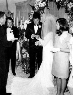 Elvis and Priscilla were married on May 1, 1967