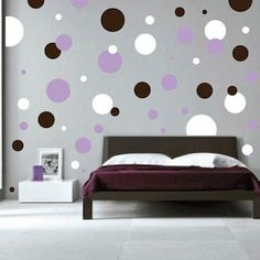 Polka Dots Wall Decals    Trendy Wall Designs by trendywalldesigns, $34.95