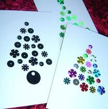 Image result for easy kids christmas card designs