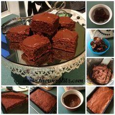 Cheeky Sweet Potato Brownies with Cheeky Chocolate Icing