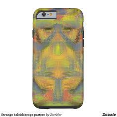 Strange kaleidoscope pattern tough iPhone 6 case