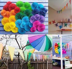 Kids party decorations