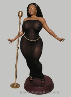 Coco - Vintage BootyBabe Art statue 1:6 scale – Booty Babe Art