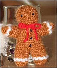 Bonhomme pain d epice au crochet (clic sur l'image pour accéder aux explications