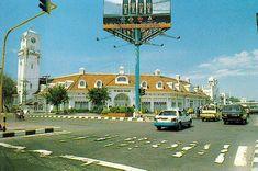 Surabaya 1995: Gedung Lindeteves, saat digunakan sebagai Bank Niaga tahun 1990-an. (dok: Yousri)