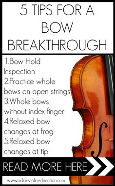 bow breakthrough pin