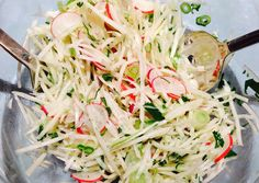 Kohlrabi and Radish Salad | Fresh Fork Market