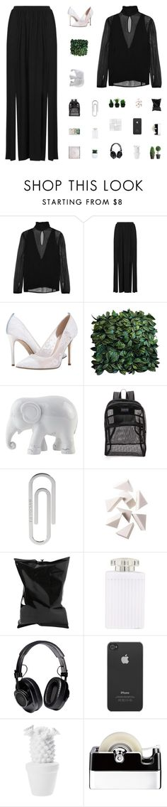 """XX"" by bosspresident ❤ liked on Polyvore featuring Altuzarra, Topshop, SJP, The Elephant Family, JanSport, Bulgari, Bobbi Brown Cosmetics, Anya Hindmarch, Chloé and Proenza Schouler"