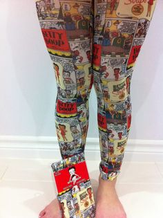 betty boop legggings | Betty Boop Adult Sexy Footless Tights White