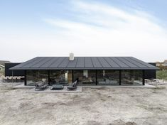 knud holscher builds residence in the danish island of fanø with interiors by staffan tollgard Danish House, Design Exterior, Black House Exterior, Modern Architecture House, Roman Architecture, Lego Architecture, Nordic Design, House Goals, House Design