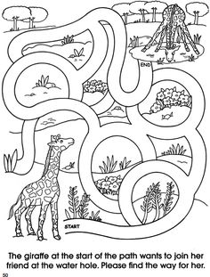 Welcome to Dover Publications  Animal Friends Mazes pg 4