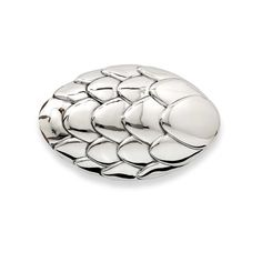 Pangolin silver belt buckle. Discover the African luxury brand Patrick Mavros who has collaborated with the Tikki Hywood Trust on a unique collection of jewellery to help save the endangered species the pangolin: http://www.thejewelleryeditor.com/jewellery/article/patrick-mavros-pangolin-jewellery-collection/ #Mens