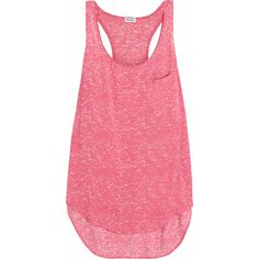 Splendid Jersey tank (€34) ❤ liked on Polyvore featuring tops, shirts, tank tops, tanks, pink, splendid shirt, jersey shirts, jersey knit shirts, pink tank and jersey tops