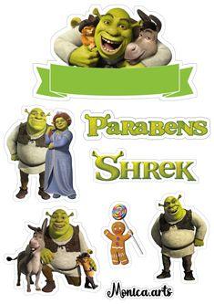 Shrek, Journaling, Barbie, Movies, Movie Posters, Art, In Love, Fiestas, Cake