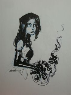 Francisco Herrera - Psylocke Comic Art