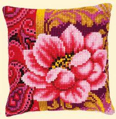 Cushion - Pink Flower II