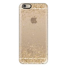 iPhone 6 Plus/6/5/5s/5c Case - Gold Sparkly Glitter Burst ($40) ❤ liked on Polyvore featuring accessories, tech accessories, phones, phone cases, cases, tech, iphone cases, glitter iphone case, slim iphone case and gold iphone case