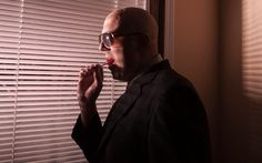 My brother, a Leukemia survivor, as Theo Kojak of 'Kojak', for 'Famously Bald'