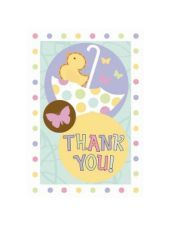 Tiny Bundle Baby Shower Thank You Notes 8ct - Baby Shower Invitations - Baby Showers - Categories - Party City