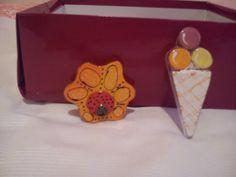 flor y helado
