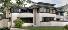 Oscar Balch House: Oak Park, Illinois :: Frank Lloyd Wright