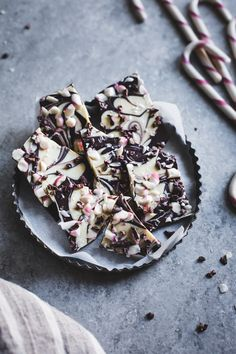 Looking forward to making this all-natural dark chocolate peppermint bark with cacao nibs and flaky salt.