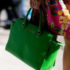 Le sac Michael Kors, look de la Fashion Week printemps été 2014 de New York