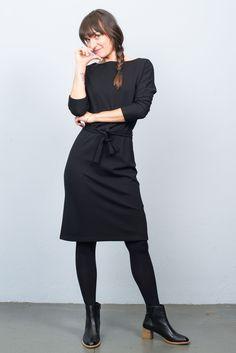 King Louie Missy Milano Crepe Dress Black King Louie, Crepe Dress, Dress Black, Normcore, Chic, Dresses, Style, Fashion, Shabby Chic