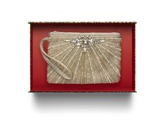 Chico's Royalle Clutch. A little holiday bling added to my wish list. #chicossweeps