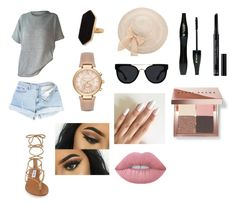 """""""Untitled #14"""" by katieescreations on Polyvore featuring Steve Madden, Jaeger, Michael Kors, Quay, Lancôme, Christian Dior, Lime Crime and Bobbi Brown Cosmetics"""
