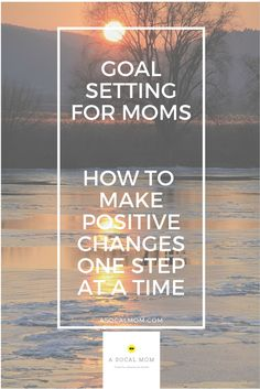"How to Set Attainable Goals that Focus on Your Personal Needs as a Mom   I stopped setting ""New Year's Resolutions"" eight years ago…not coincidentally, at the time I was pregnant with my first child. It seemed silly to make resolutions that I had no idea what my life would look like. My resolutions always ..."