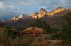 Zion - Just a couple hours from Bryce Canyon.