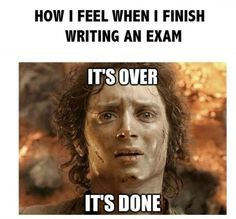 Exam Meme #Done, #Finish