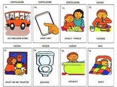 Muj den Worksheets, Comics, Learning, Logos, School, Educational Activities, Preschool, Studying, Logo