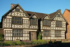 Churches Mansion, Nantwich, Cheshire, I have loved this building for many years.